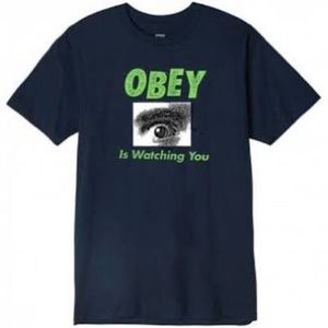 Obey Is Watching You T- Shirt
